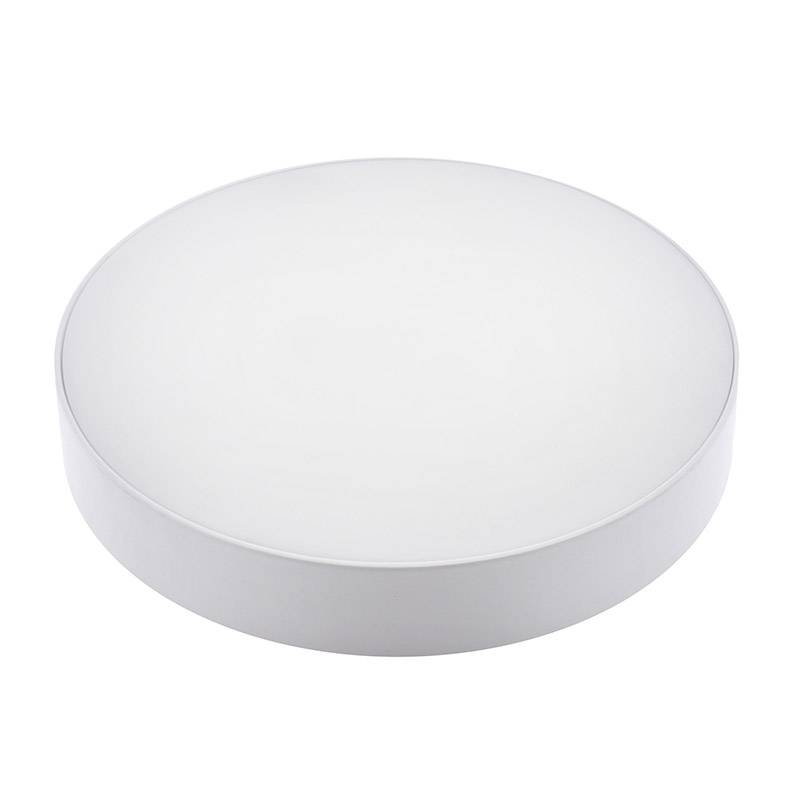 Plafón Led SLIM ROUND Backlight 30W, Blanco cálido